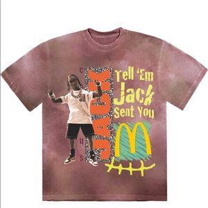 Travis Scott X McDonalds Jack Smile T-Shirt II